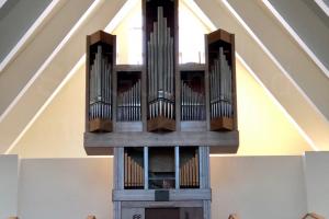 2019 Montering av orgel