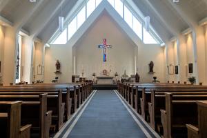 Innvendig av kirke